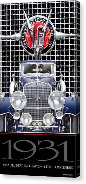 1931 Cadillac V-16 Phaeton Canvas Print