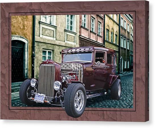1931 Chev Canvas Print