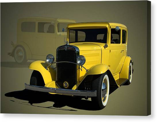 1931 Chevrolet Sedan Hot Rod Canvas Print