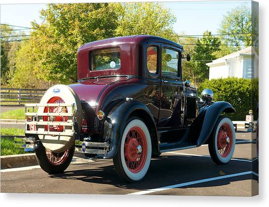 1931 Ford Model A Coupe Canvas Print