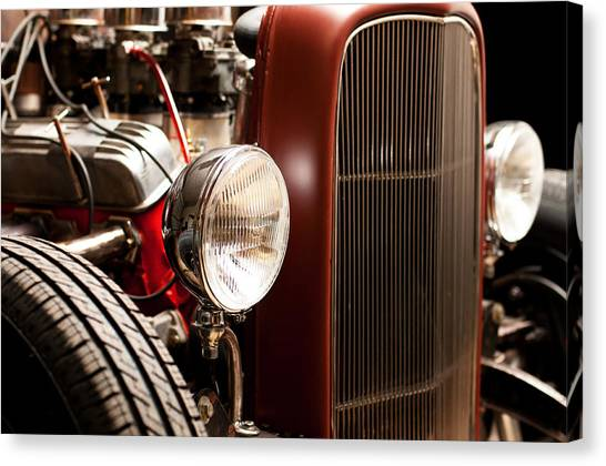 1932 Ford Hotrod Canvas Print