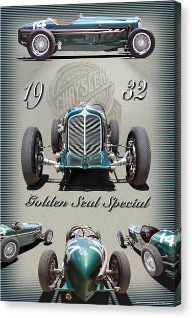 1932 Golden Seal Spl. Canvas Print