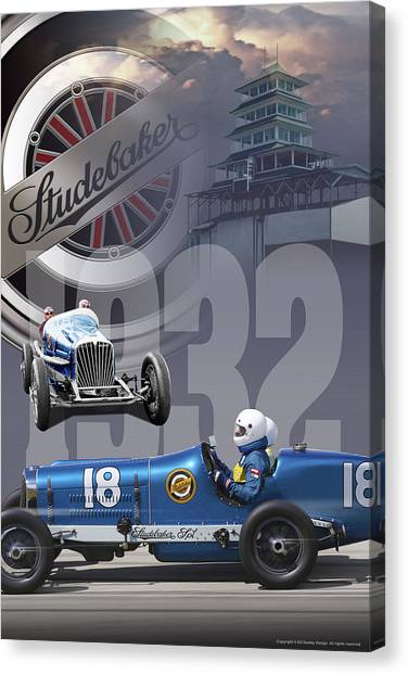 1932 Studebaker Indy Canvas Print
