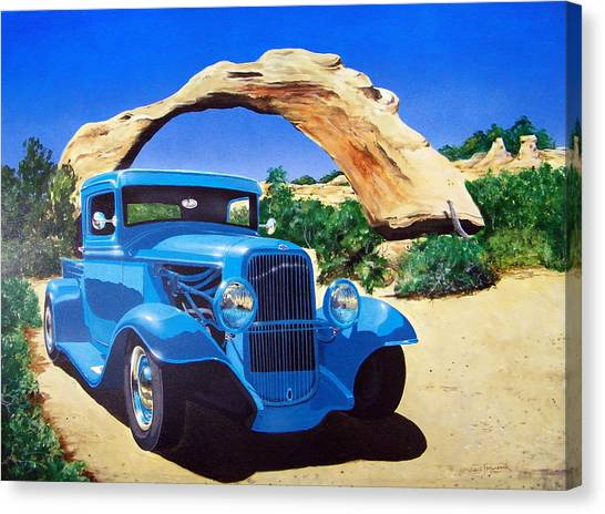 1933 Ford Pickup Canvas Print