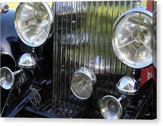 1933 Rolls Royce Phantom II Front Assembly Canvas Print by Mark Steven Burhart