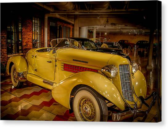 1935 Auburn 851 Speedster Supercharged Canvas Print