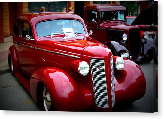 1937 Buick 8 Canvas Print by Willy  Nelson