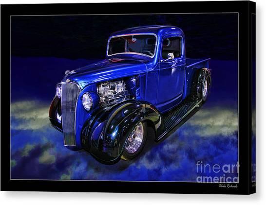 1937 Chevrolet Pickup Truck Canvas Print