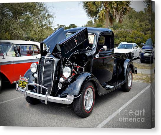 1937 Ford Pick Up Canvas Print