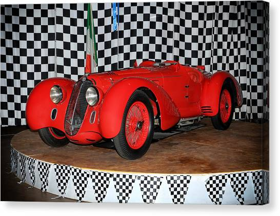1938 Alfa Romeo 2900b Mm Canvas Print