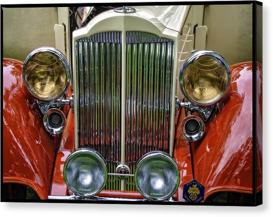 1928 Classic Packard 443 Roadster Canvas Print