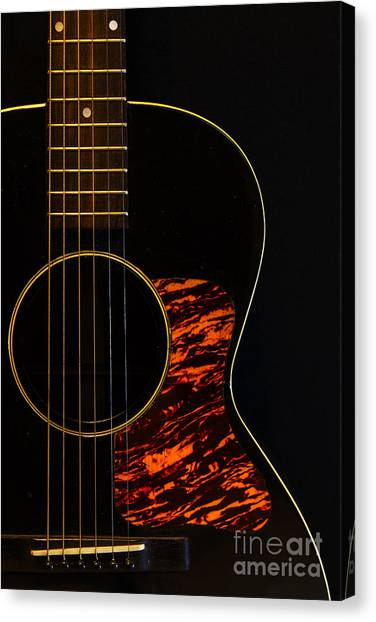 Classical Guitars Canvas Print - 1938 Gibson by Dennis Hedberg