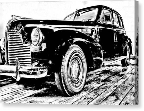 1940 Buick Century Canvas Print