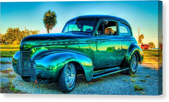 1940 Chevy Sedan Canvas Print