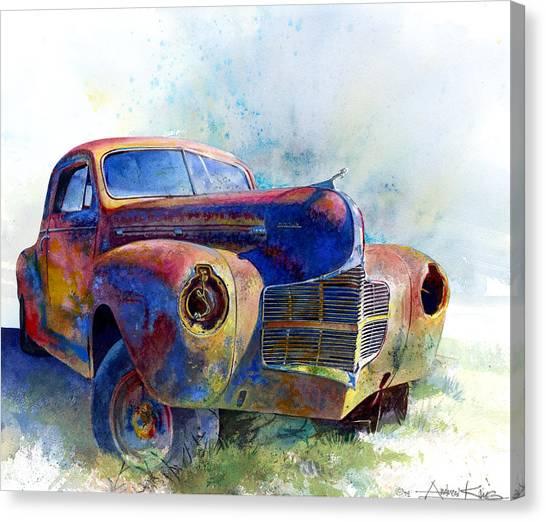 1940 Dodge Canvas Print