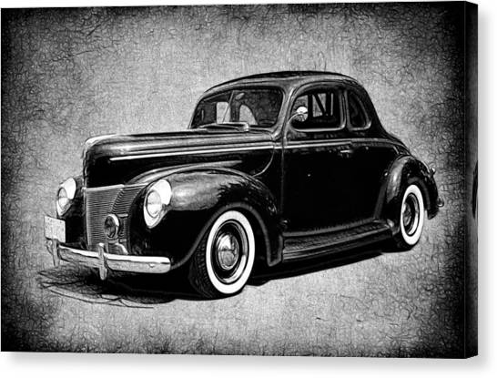 Canvas Print - 1940 Ford Coupe by Steve McKinzie