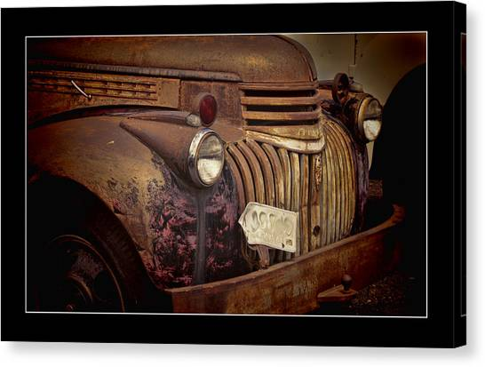 1946 Chevy Truck Canvas Print