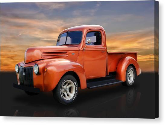1947 Ford Pickup Truck Canvas Print