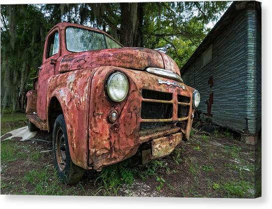 1948 Dodge Pickup Canvas Print