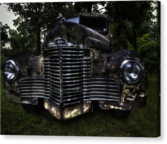 1948 International Truck Canvas Print