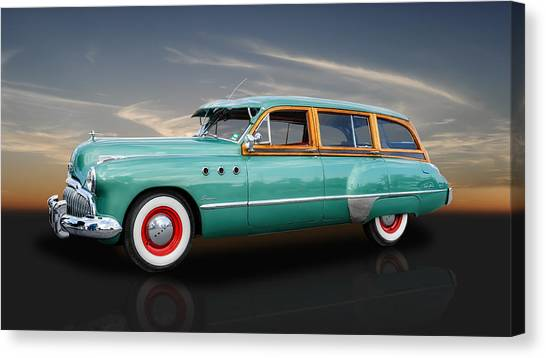 1949 Buick Super Woody Canvas Print