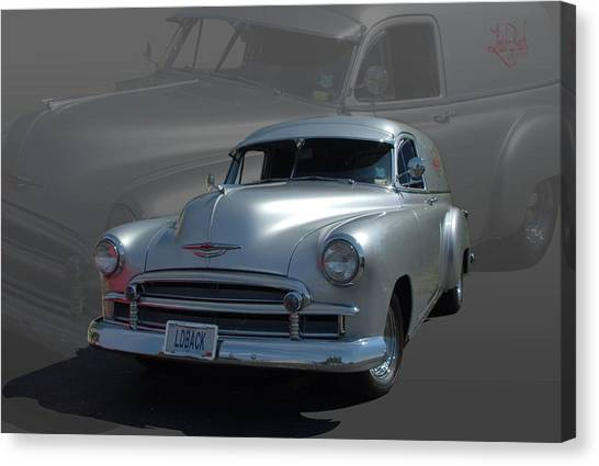 1950 Chevrolet Sedan Delivery Canvas Print by Tim McCullough