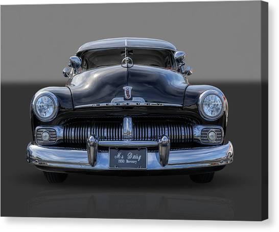 1950 Mercury Canvas Print by Frank J Benz