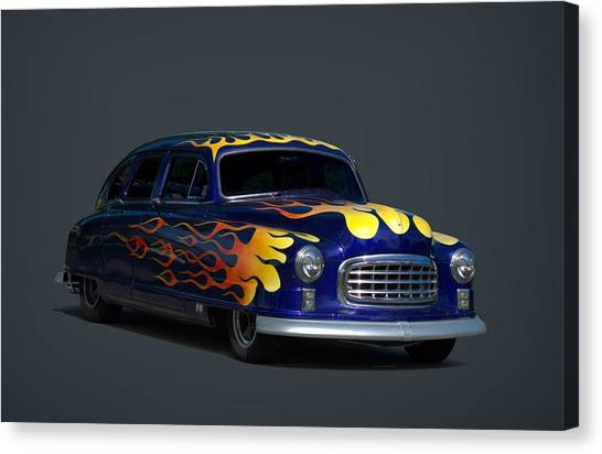 Sleds Canvas Print - 1950 Nash Airflyte Statesman by Tim McCullough
