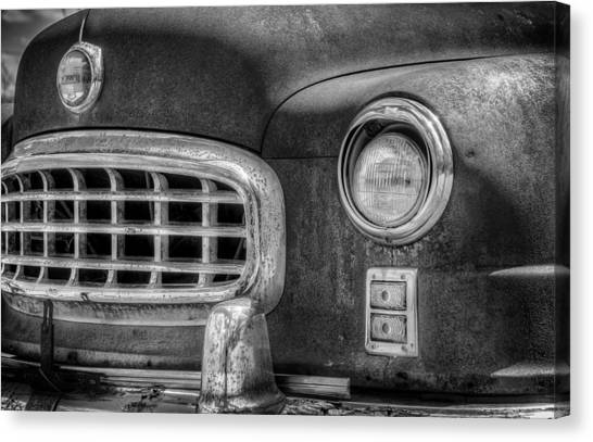 Grills Canvas Print - 1950 Nash Statesman by Scott Norris