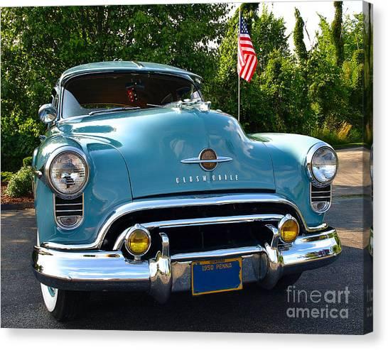 1950 Oldsmobile Canvas Print
