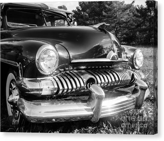Coupe Canvas Print - 1951 Mercury Coupe - American Graffiti by Edward Fielding