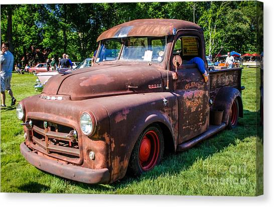 1952 Dodge Pickup Canvas Print