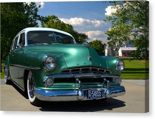 1952 Dodge Station Wagon Canvas Print by Tim McCullough