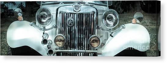 1952 Mg Canvas Print by Steven Digman