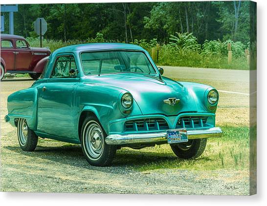 1952 Studebaker Canvas Print by Barry Jones