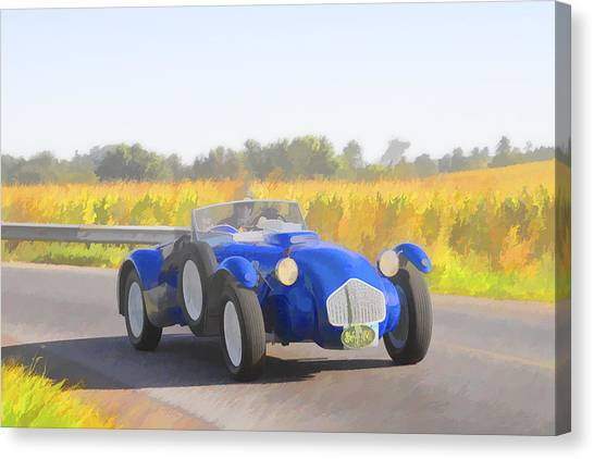 1953 Allard J2x Roadster Canvas Print
