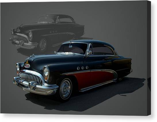 Sleds Canvas Print - 1953 Buick Low Rider by Tim McCullough