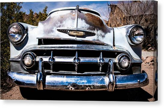 1953 Chevy Bel Air Canvas Print