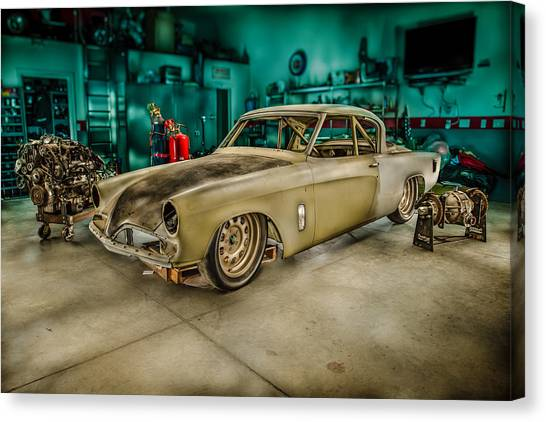 1953 Studebaker Hawk Canvas Print