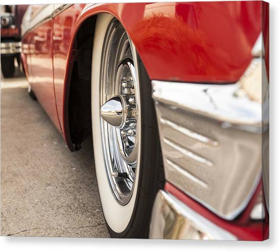 1956 Chevy Custom Canvas Print