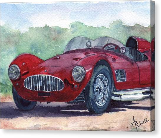 1954 Maserati A6 Gsc Tipo Mm Canvas Print
