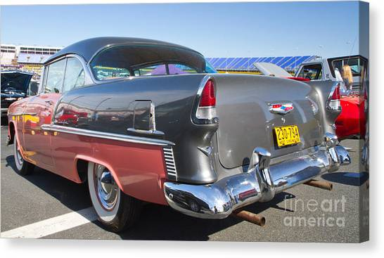1955 Chevy Bel Air Canvas Print