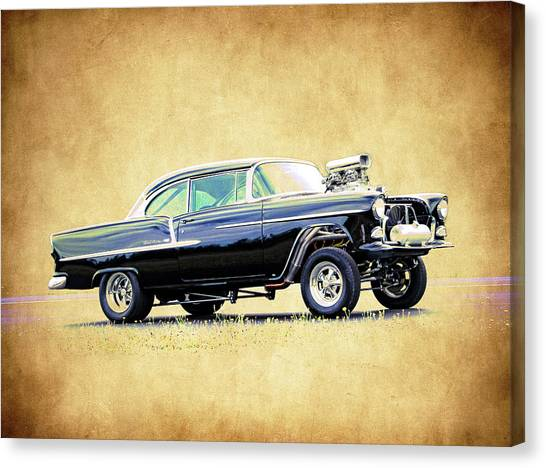 1955 Chevy Gasser Canvas Print