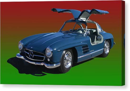 1955 Mercedes Benz 300 S L  Canvas Print