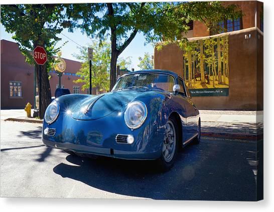 1956 356 A Sunroof Coupe Porsche Canvas Print