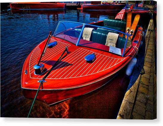 1956 Chris-craft Capri Classic Runabout Canvas Print