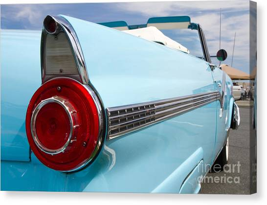 1956 Ford Fairlane Sunliner Canvas Print