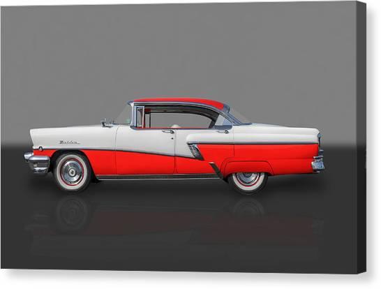 1956 Mercury Montclair Phaeton Canvas Print by Frank J Benz