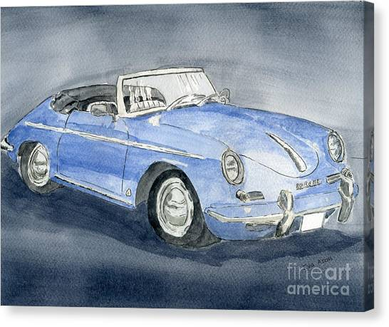 1956 Porche 356b Roadster Canvas Print