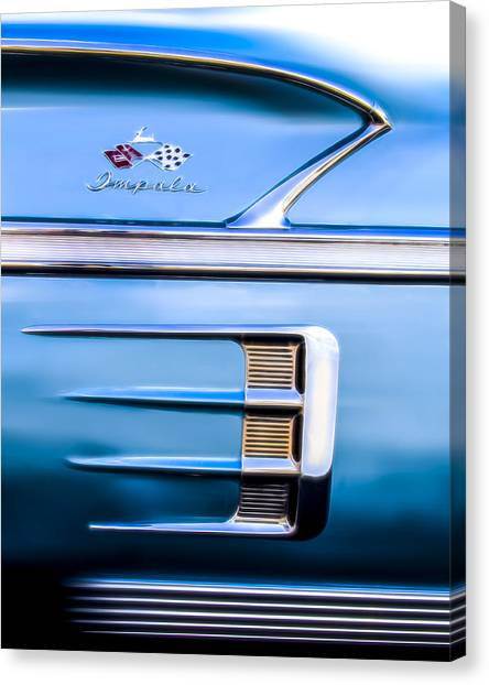 1958 Chevrolet Impala Canvas Print